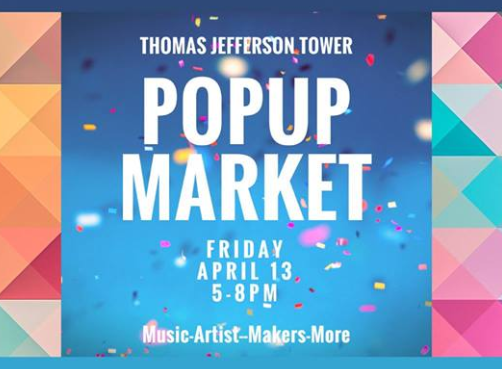 Thomas Jefferson Tower Popup Market