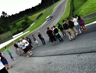 Barber Chili Cook Off Track Walk