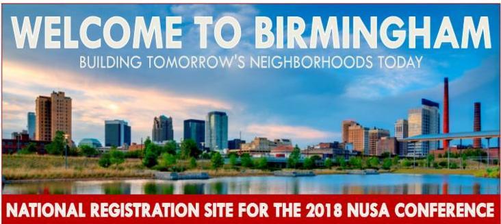 NUSA Conference 2018 Birmingham