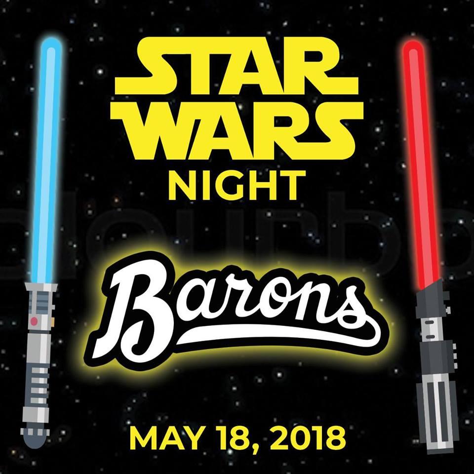 Star Wars Night at Barons