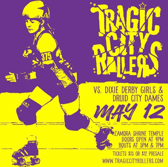 Tragic City Rollers May 12