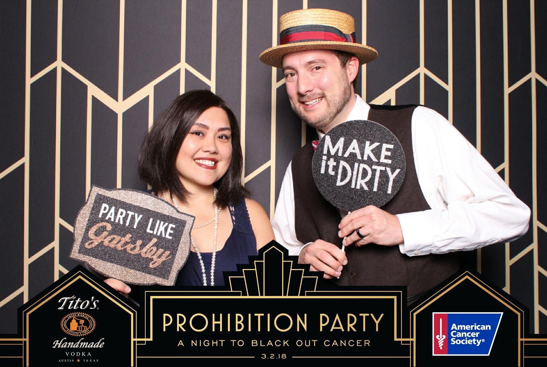 The Flash Bar at the Prohibition Party