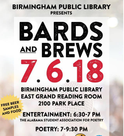 Bards and Brews July 2018