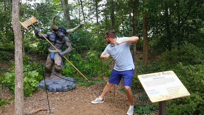 Minotaur Fight