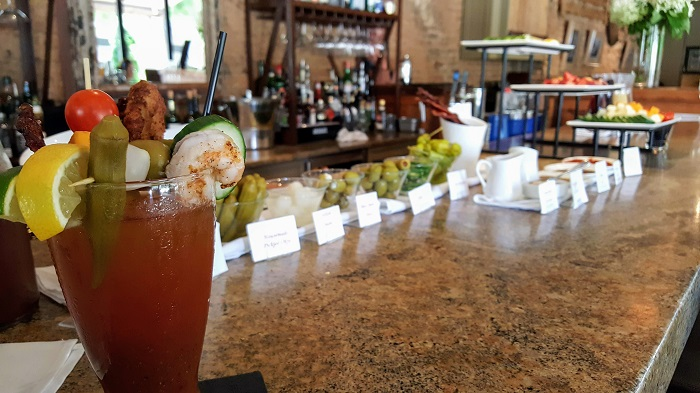 Cotton Row Bloody Mary Bar
