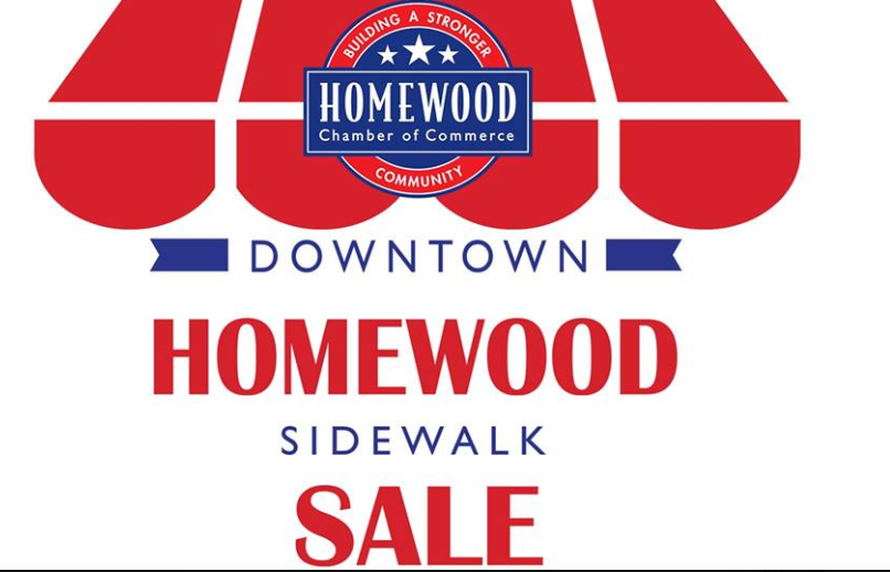 Homewood Sidewalk Sale
