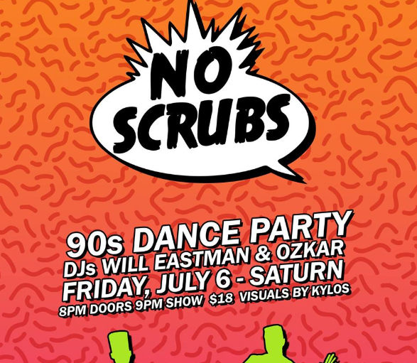 No Scrubs Party
