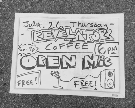 Revelator Coffee Open Mic