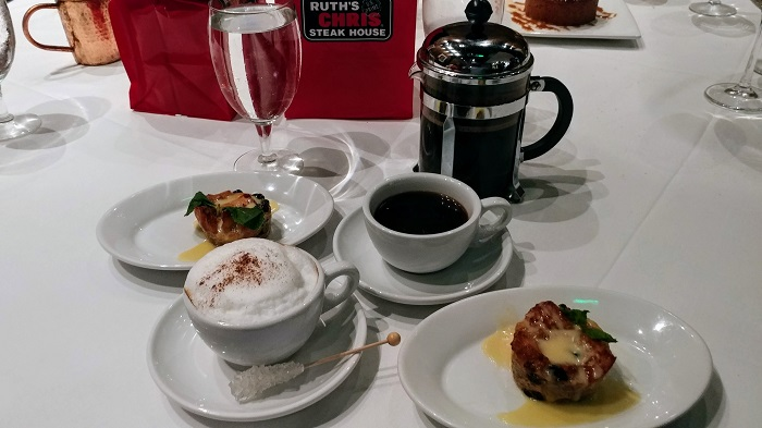 Ruth's Chris Dessert and Coffee