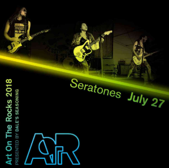 Seratones Art on the Rocks