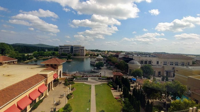 View of Bridge Street from The Westin Huntsville, AL