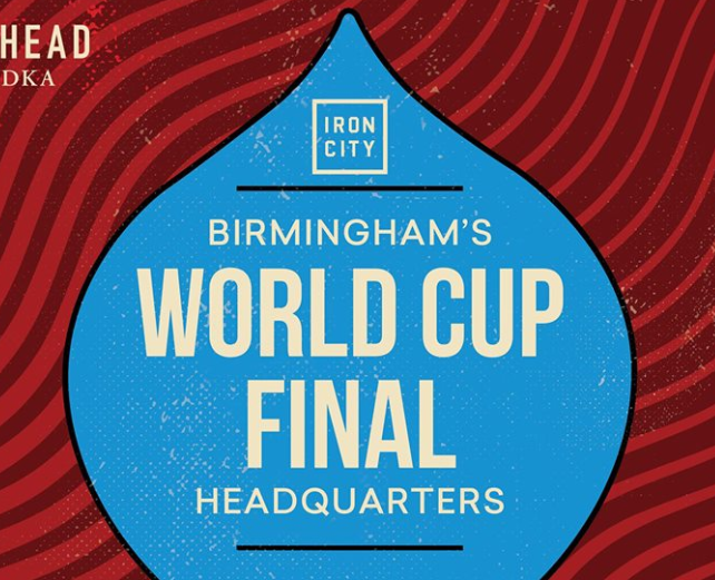 World Cup Game at Iron City Bham