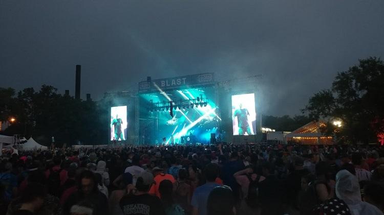 Sloss Fest Blast Stage
