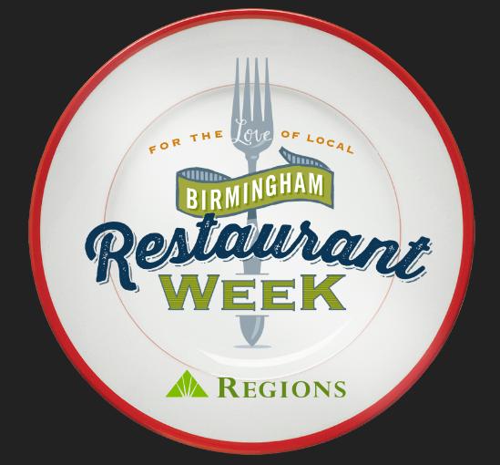 Birmingham Restaurant Week 2018 Plate Logo