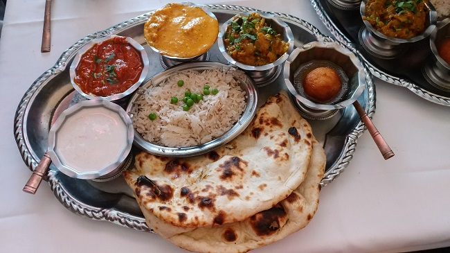 Taj India House Special Thali