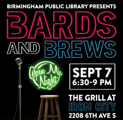 Bards & Brews at Iron City