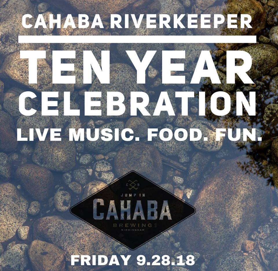 Cahaba River Keeper 10yrs!