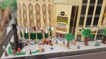 Free Museum Day McWane Lego Sculpture