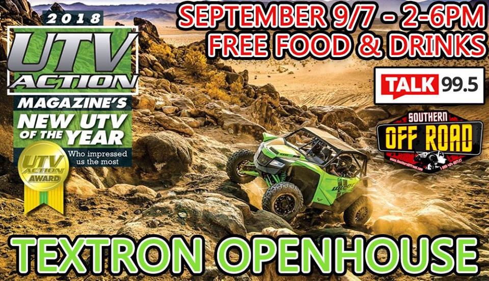Southern Off Road Textron Open House