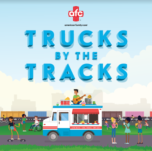 Trucks by the Tracks
