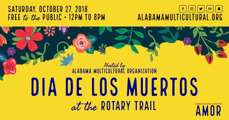 FREE Dia de los Muertos at Rotary Trail