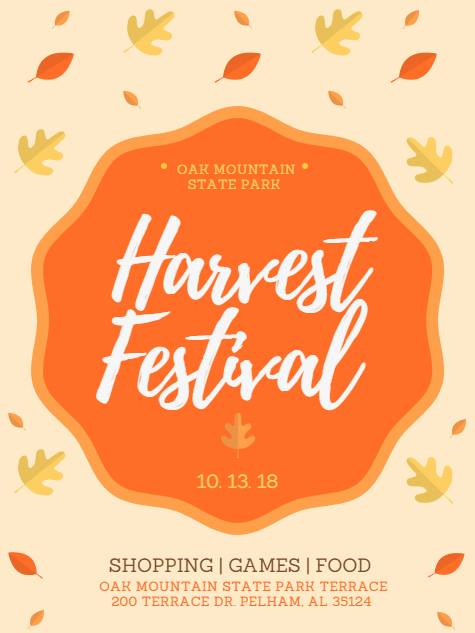 Harvest Festival Oak Mountain Park