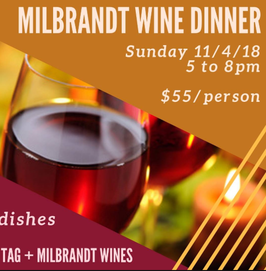 Milbrandt Wine Dinner