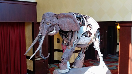 Elephant Sculpture at Ross Bridge Resort
