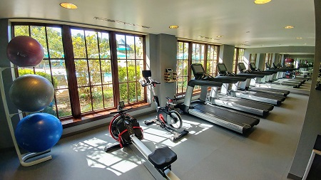 Cardio Room at Ross Bridge Resort
