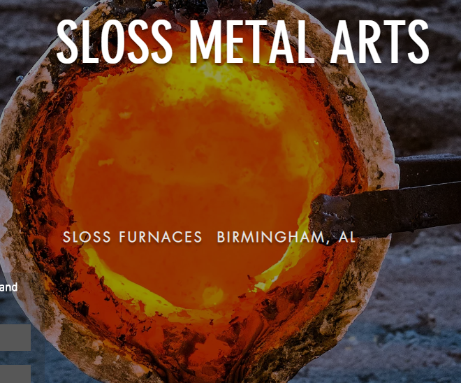 Holiday Pour Sloss Metal Arts
