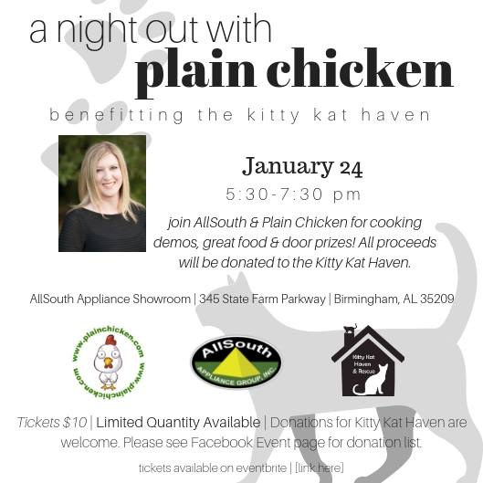 A night with Plain Chicken