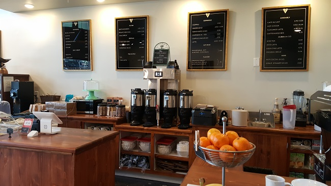 Coffee bar at Filter