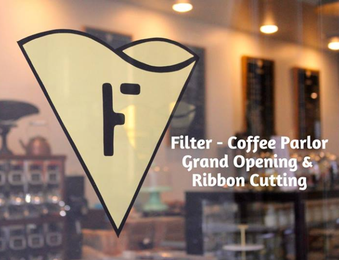 FILTER Coffee Ribbon Cutting