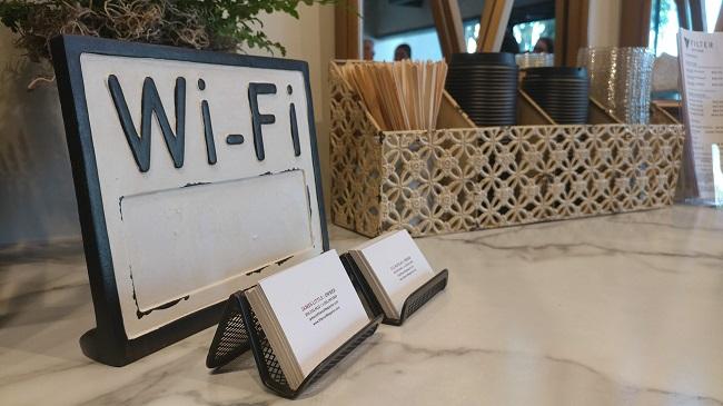 Wifi at Filter