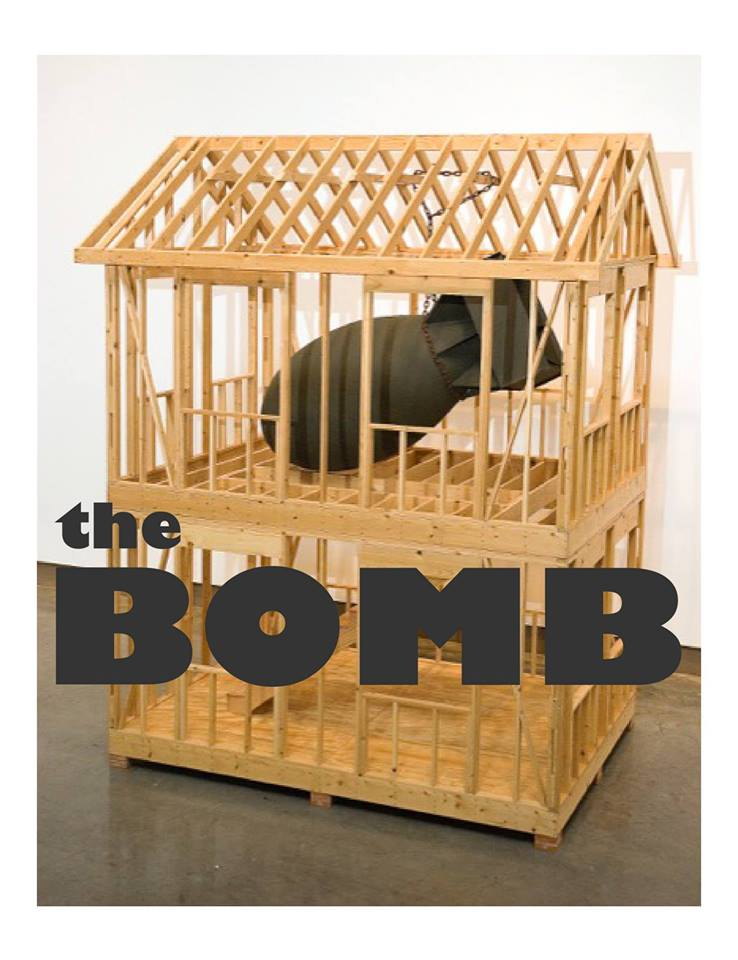 The BOMB art opening