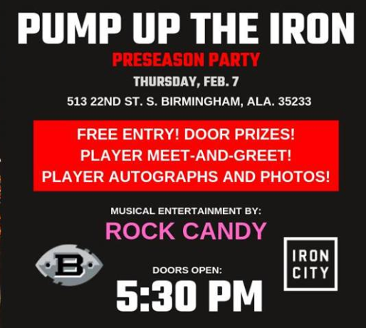 Pump up the Iron