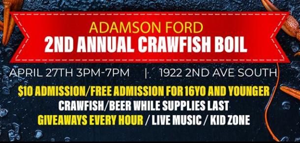 Adamson Crawfish Boil