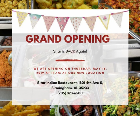 Sitar Grand Opening