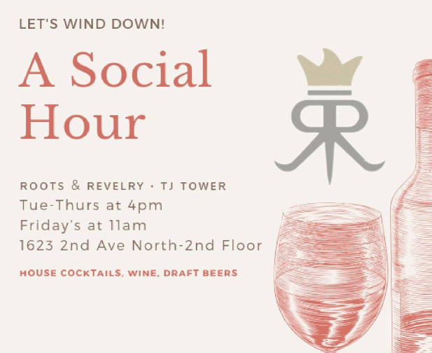 TJ Tower Social Hours