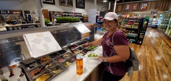 Harvest Market Salad Bar