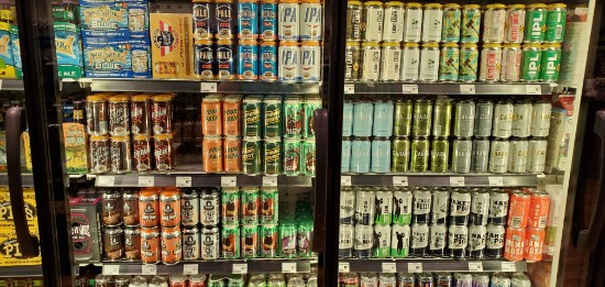 Harvest Market Local Beer Selection