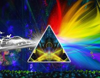 Pink Floyd Laser Light Show