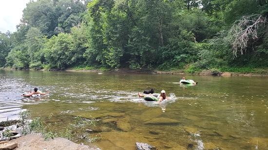Floating Locust Fork River