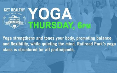 Yoga at Railroad Park
