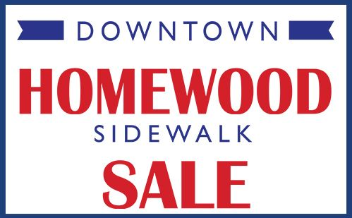 Downtown Homewood Sidewalk Sale