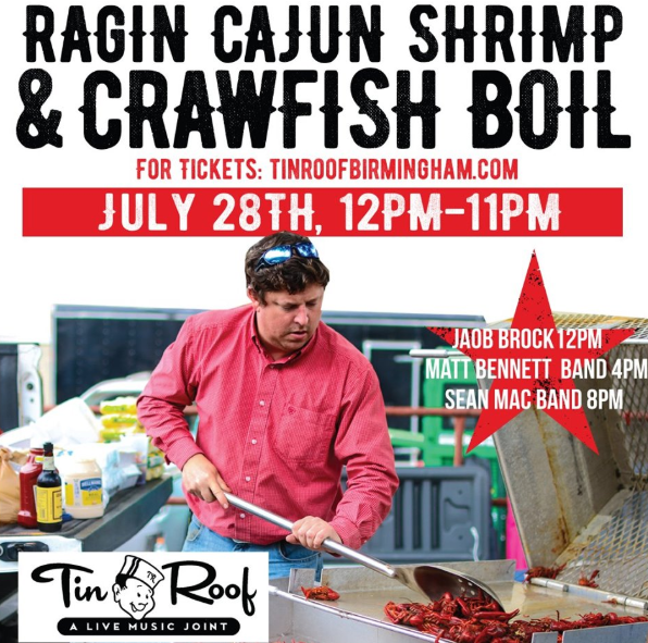 Ragin Cajun Crawfish Boil