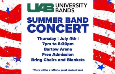 UAB Summer Band Concert