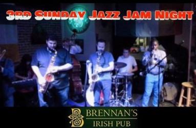 Jazz Sunday at Brennan's Irish Pub
