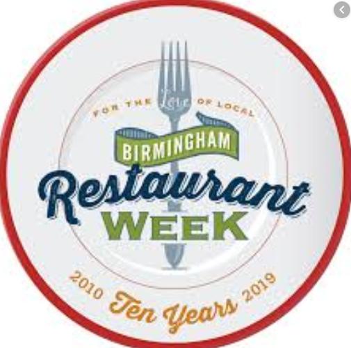 Birmingham Restaurant Week 2019