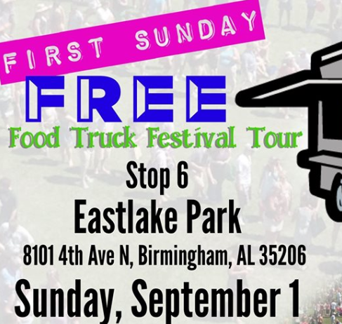 First Sunday Free Food Truck Tour